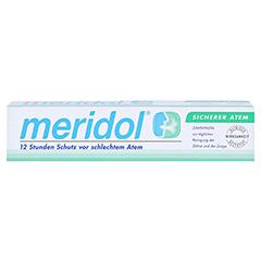 MERIDOL sicherer Atem Zahnpasta 75 Milliliter - Vorderseite