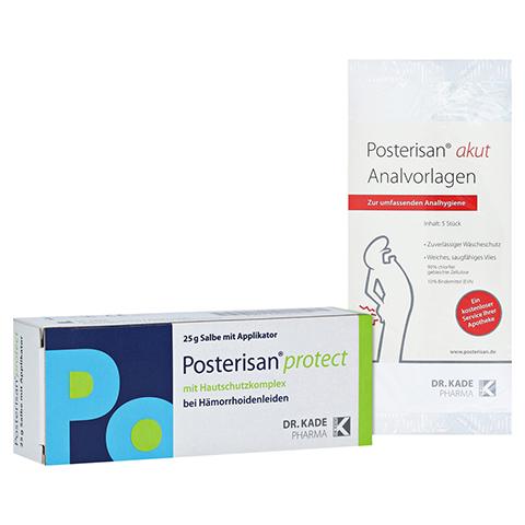 POSTERISAN protect Salbe + gratis Protect Analvorlagen 25 Gramm