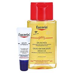 Eucerin Acute Lip Balm + gratis Eucerin pH5 Duschöl 100 ml 10 Milliliter