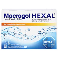Macrogol HEXAL plus Elektrolyte 30 Stück N2 - Vorderseite