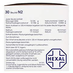 Macrogol HEXAL plus Elektrolyte 30 Stück N2 - Linke Seite