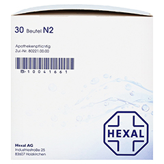 Macrogol HEXAL plus Elektrolyte 30 Stück N2 - Rechte Seite