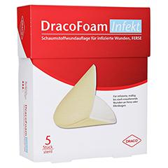 DRACOFOAM Infekt Schaumst.Wundauf.Ferse 5 Stück