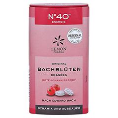 BACHBLÜTEN No.40 Energie Dragees nach Dr.Bach 21 Gramm - Vorderseite
