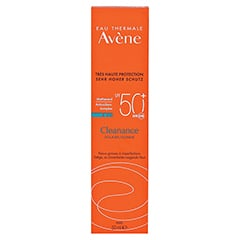 AVENE Cleanance Sonne SPF 50+ Emulsion + gratis Avène After-Sun Gel 50ml 50 Milliliter - Vorderseite