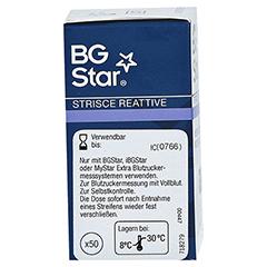 BGSTAR Teststreifen 50 Stück - Rechte Seite