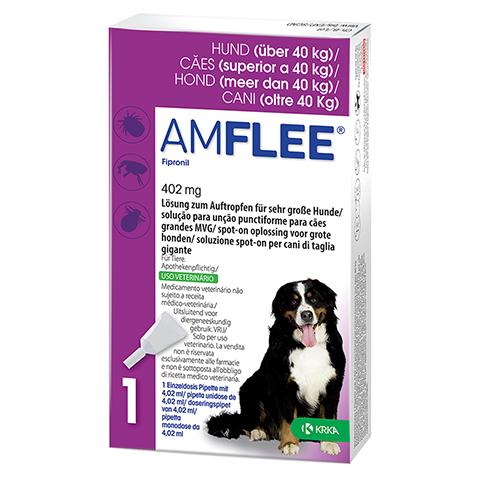 AMFLEE 402 mg Spot-on Lsg.f.sehr gr.Hunde 40-60kg 3 Stück