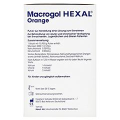 Macrogol Hexal Orange 20 Stück - Rechte Seite