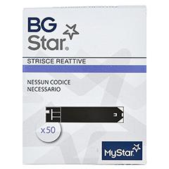 BGSTAR Teststreifen 50 Stück - Rückseite
