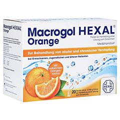 Macrogol Hexal Orange 20 Stück