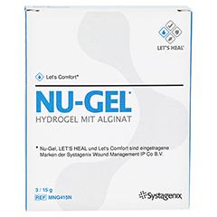 NU GEL Hydrogel MNG415 3x15 Gramm - Vorderseite