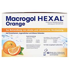 MACROGOL HEXAL Orange Plv.z.Her.e.Lsg.z.Einn.Btl. 50 Stück - Linke Seite