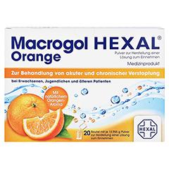 Macrogol Hexal Orange 20 Stück - Rückseite