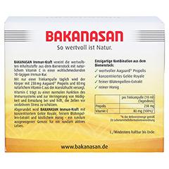 BAKANASAN Immun-Kraft Aagaard plus Trinkampullen 14 Stück - Rückseite
