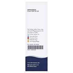 Dermasence Cream soft LSF 30 50 Milliliter - Rückseite