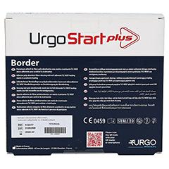 URGOSTART Plus Border 10x10 cm Wundverband 10 Stück - Rückseite
