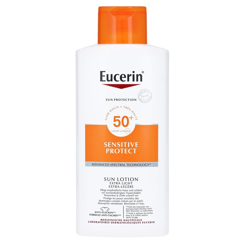 erfahrungen zu eucerin sun lotion extra leicht lsf 50 promo 400 milliliter medpex versandapotheke. Black Bedroom Furniture Sets. Home Design Ideas