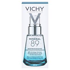 Vichy Minéral 89 Hyaluron-Boost Gesichtspflege 30 Milliliter - Rückseite