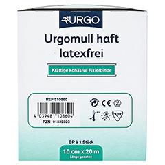URGOMULL haft latexfrei 10 cmx20 m 1 Stück - Linke Seite