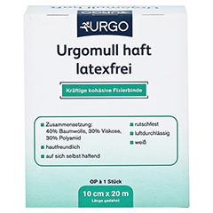 URGOMULL haft latexfrei 10 cmx20 m 1 Stück - Rückseite