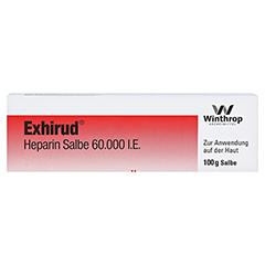 Exhirud Heparin 60000I.E. 100 Gramm N2 - Vorderseite