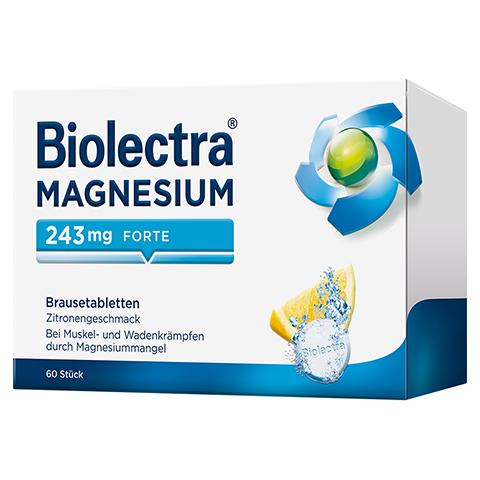 BIOLECTRA Magnesium 243 forte Zitrone Brausetabl. 60 Stück N2
