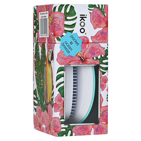 ikoo Brush paradise collection pocket white - ocean breeze 1 Stück
