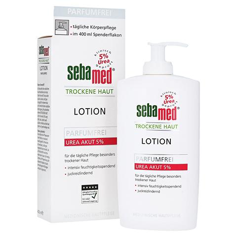 SEBAMED Trockene Haut parfümfrei Lotion Urea 5% 400 Milliliter