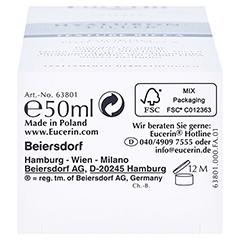 Eucerin Hyaluron-Filler Urea Tagespflege Creme + gratis Eucerin Dermatoclean Mizellen-Reinigung 100ml 50 Milliliter - Unterseite