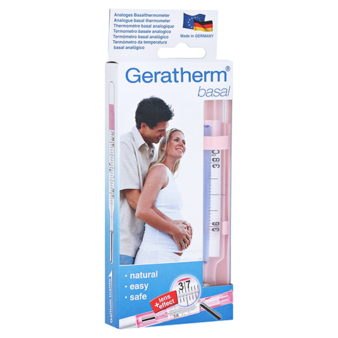 GERATHERM basal anaLoges Zyklusthermometer 1 Stück