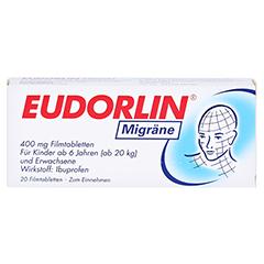 EUDORLIN Migräne 20 Stück - Vorderseite
