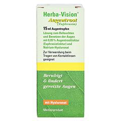 Herba-vision Augentrost 15 Milliliter - Vorderseite
