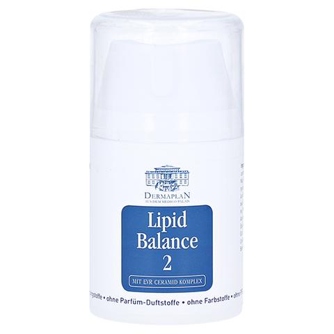 DERMAPLAN Lipid Balance 2 Creme Pumpflasche 50 Milliliter