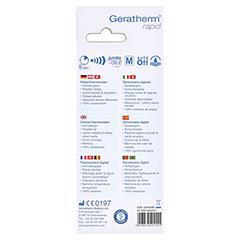 GERATHERM Fiebertherm.rapid digital 1 Stück - Rückseite