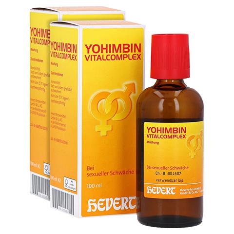 YOHIMBIN Vitalcomplex Hevert Tropfen 200 Milliliter