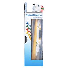 GERATHERM Ohr Stirn Thermometer Duotemp gelb 1 Stück - Linke Seite