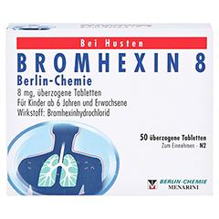 BROMHEXIN 8 Berlin-Chemie 50 Stück N2 - Vorderseite