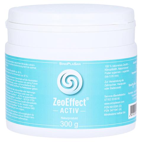 ZEOEFFEKT activ Clinoptilolith-Zeolith Pulver 300 Gramm