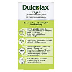 Dulcolax Dragees 5mg 40 Stück - Rückseite