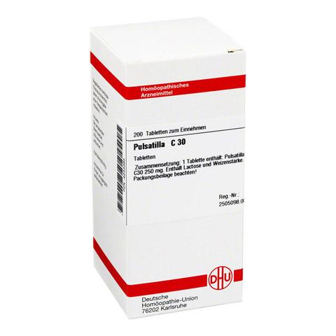 PULSATILLA C 30 Tabletten 200 Stück