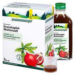 GRANATAPFEL MUTTERSAFT Schoenenberger Heilpfl.S. 3x200 Milliliter