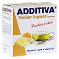 ADDITIVA hei�er Ingwer+Orange Pulver