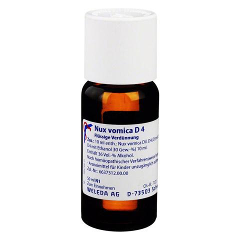 NUX VOMICA D 4 Dilution 50 Milliliter N1