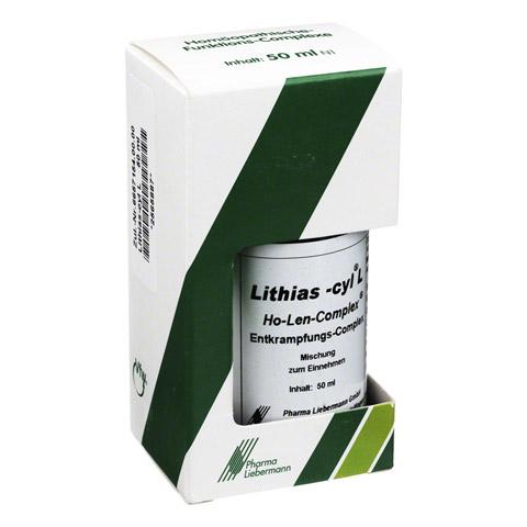 LITHIAS cyl L Ho-Len-Complex Entkrampfungskomplex 50 Milliliter N1