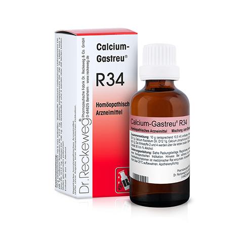 CALCIUM GASTREU R 34 Tropfen zum Einnehmen 50 Milliliter N1