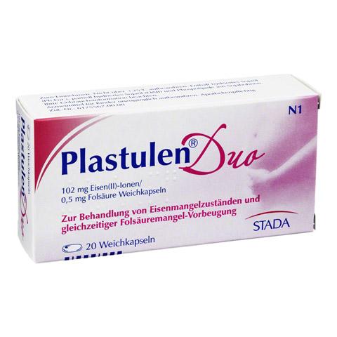 Plastulen Duo Eisen/Folsäure 20 Stück N1
