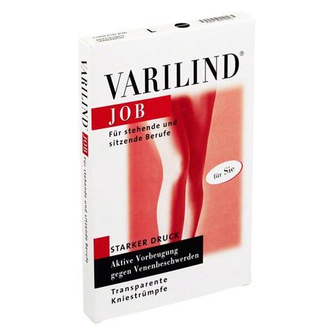 VARILIND Job 100den AD L transp.schwarz 2 St�ck
