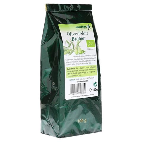 OLIVENBLATT Biotee 100 Gramm