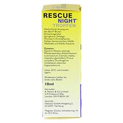 BACH ORIGINAL Rescue night Tropfen alkoholfrei 10 Milliliter - Rechte Seite