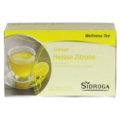 SIDROGA Wellness heiße Zitrone Filterbeutel 20 Stück - Vorderseite